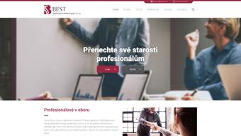Obrázek reference Webové stránky BEST Daňová a účetní s.r.o.