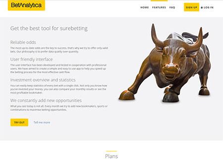 Náhled webu betanalytica.com - obrázek 3