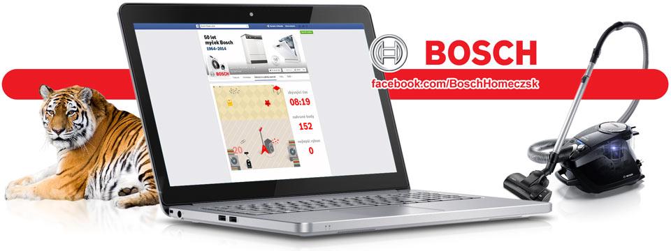 Bosch - facebooková aplikace - Vysavač