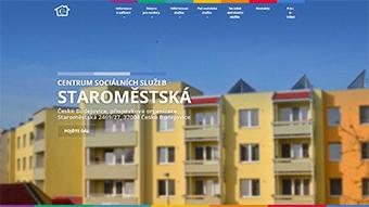Webové stránky CSS Staroměstská