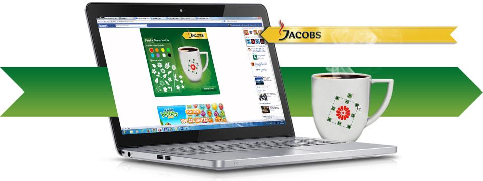 Aplikace pro Jacobs - Navrhni si hrneček