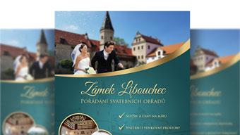 Obrázek reference Tvorba letáčků pro zámek Libouchec