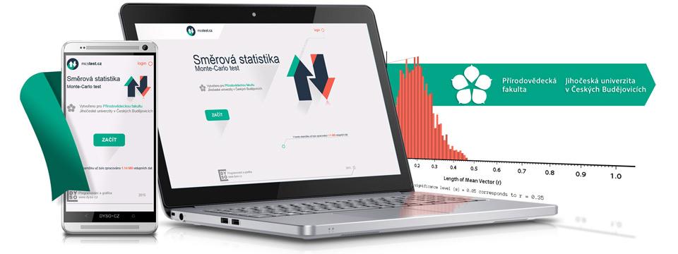 Webová aplikace - Monte-Carlo test - Kruhová statistika