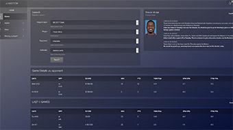 Obrázek reference NBettor - webová aplikace