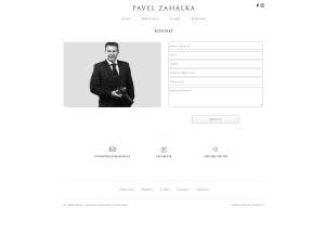 Náhled webu pavelzahalka.cz - obrázek #3