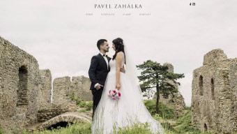 Obrázek reference Webové stránky svatebního fotografa