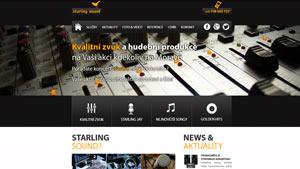 Webdesign a CMS pro SSound.cz