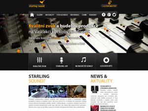 Náhled webu SSound.cz - obrázek #1