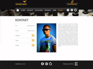 Náhled webu SSound.cz - obrázek #3