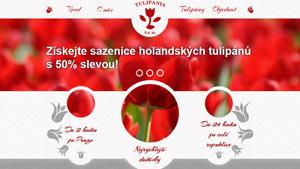 Obrázek reference Tulipania - svět tulipánů<br  />Web dodavatele premiových tulipánů