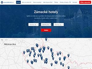 Náhled webu Zámecké hotely - obrázek #1