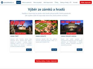 Náhled webu Zámecké hotely - obrázek #2