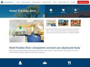 Náhled webu Zámecké hotely - obrázek #3