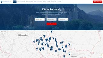 Vyhledávač ubytování ZameckeHotely.cz